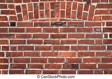 close-up of old brick stone wall background