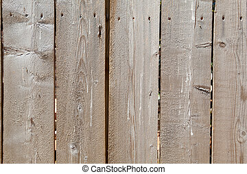 Full Frame Close-Up Rough Unfinished Wooden Fence