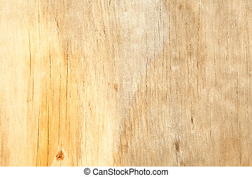 Full Frame Close Up Stained Yellow Wood Grain