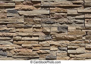 Full Frame Modern Brick Texture