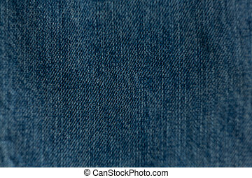 Full frame of textile - Full frame of denim textile