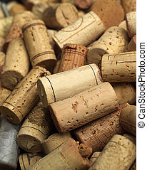 Wine corks - Full Frame of Wine corks