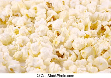 Popcorn - Full Frame shot of Popcorn