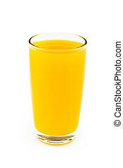 Full glass of orange juice