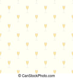Full glass pattern seamless vector