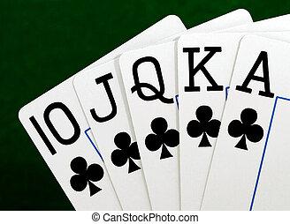poker - full house in poker