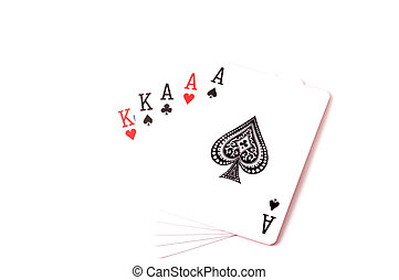 Full-house set of cards