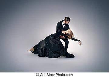 full length dance portrait