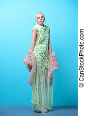 full length fashion portrait