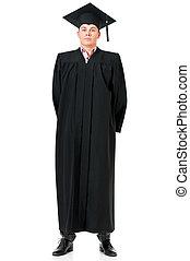 Full length graduation man