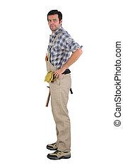 Full length handyman