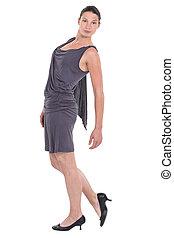 Full-length portrait of a dancer