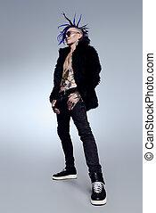 punk rock musician