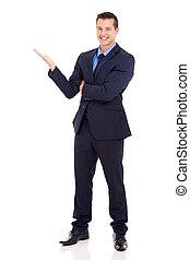 businessman presenting
