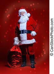 full length Santa
