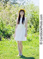 Full length shot of girl