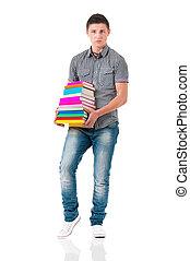 Full length student boy