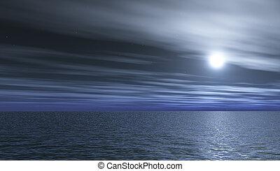 full-moon, éjszaka