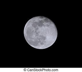 Full Moon & Clear Sky