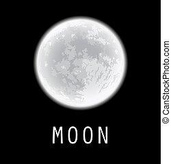 Full moon.