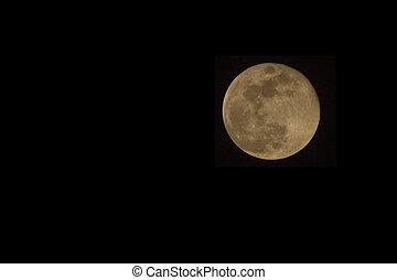 Full Moon in Uganda
