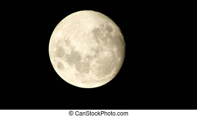 Full Moon Lunar Object Outer Space
