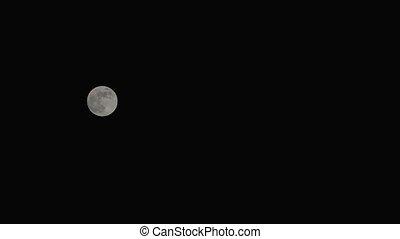 Full Moon on a clear night sky
