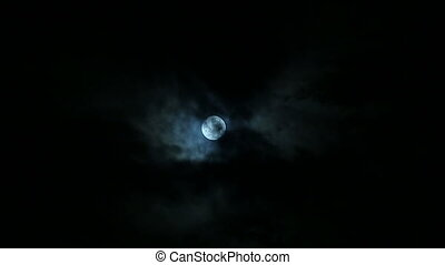Full Moon on a Cloudy Night