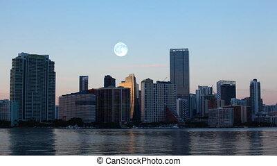 Full Moon over Miami