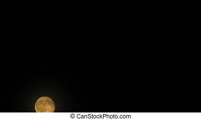 Full moon time laps