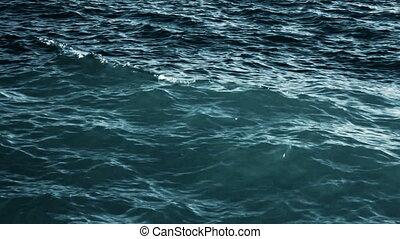 (full, océan, hd), vagues