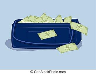 Full of Cash Bag
