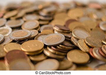 Full of coins