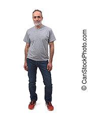 full portrait of a man