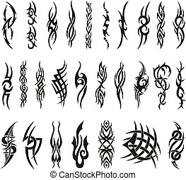 Full Tribal Artwork Collection - Tattoo Vector
