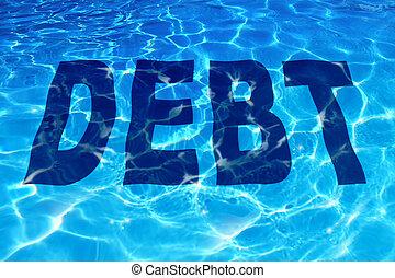 fulladás, adósság