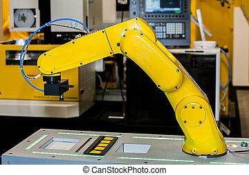 Fully automated CNC machining