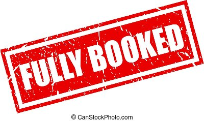 Fully booked stamp