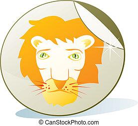 illustration of isolated sticker