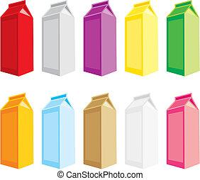 juice carton boxes