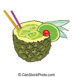 pineapple cocktail