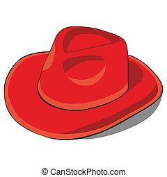 fully editable vector illustration old hat