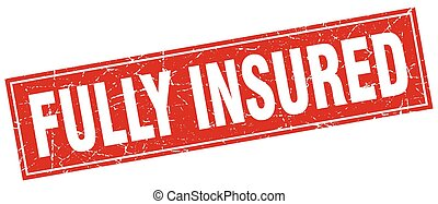 fully insured square stamp