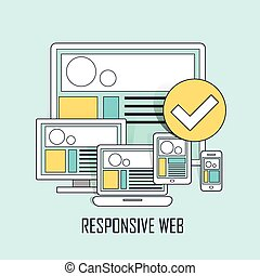 fully responsive user interface
