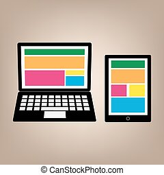 Fully responsive web gadgets