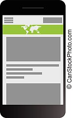 Fully responsive web site design across multiple platforms