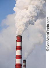 fumée, chimne