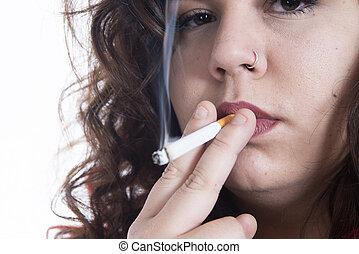 fumador, curvy