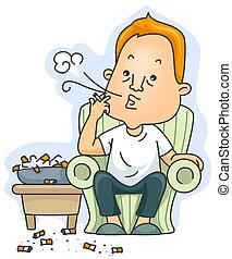 fumante, corrente