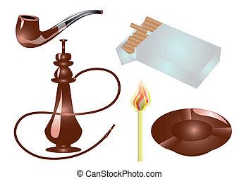 fumar, accesorios